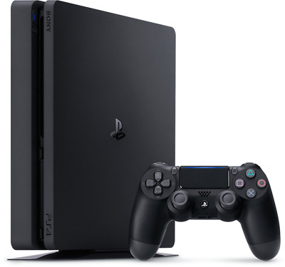 Sony PlayStation 4 PS4 - BLACK - 500GB with LOTS OF EXTRAS - FAST, FREE SHIP