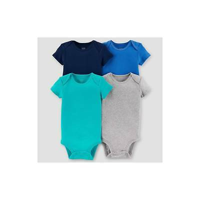 Baby Boys' 4pk Short Sleeve Bodysuit Set - Just One You™ Made by Carter'...