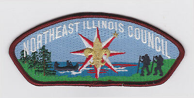 Usa Boy Scouts Of America - Bsa Scout Northeast Illinois Council Shoulder Patch