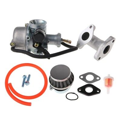 ATV 19mm Carb PZ19 Carburetor Air Filter Intake Pipe 50cc 110cc Pit Dirt Bike
