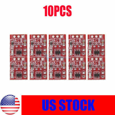 10 x TTP223 2.5-5.5V Capacitive Touch Switch Button Self-Lock Module for Arduino
