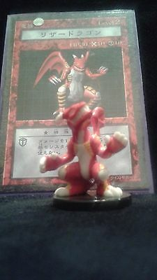 YUGIOH Dungeon Dice Monsters DDM - Japanese GATOR DRAGON  figure & card lot