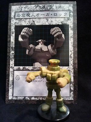 YUGIOH Dungeon Dice Monsters DDM - Japanese  ROCK OGRE GROTTO #1 figure/card lot