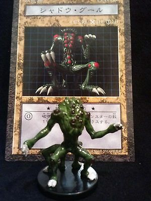 YUGIOH Dungeon Dice Monsters DDM - Japanese  SHADOW GHOUL  figure/card lot