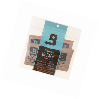 Boveda 69% Rh 2-Way Humidity Control, 8 g, 10 Pack