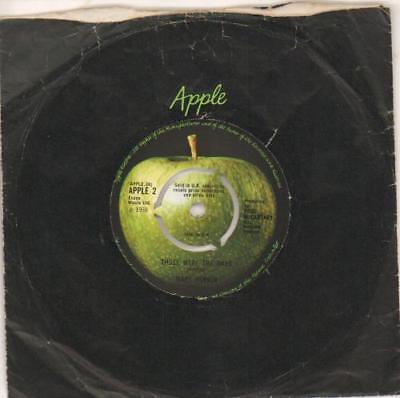 "Mary Hopkin Those Were The Days - 3-prong UK 7"" vinyl single record APPLE2"