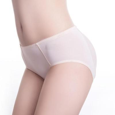 Brief Silicone Pads Butt Enhancer Shaper Panties Buttock Tummy Control Pop
