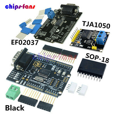CAN BUS Shield Receiver MCP2515 EF02037 TJA1050 SPI Controller IC for Arduino