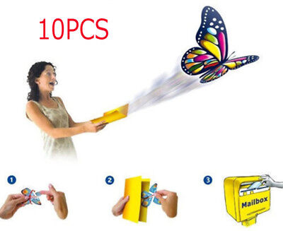 10X GREETING CARD MAGIC Exclusive Flying Butterfly works with ALL GREETING CARDS