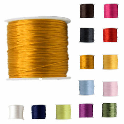 78m 0.8mm Waxed Thread Repair Cord String Leather Wax Hand Stitching Sewing DIY