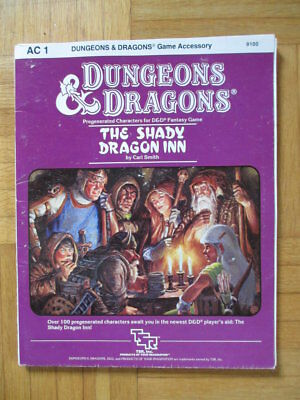 D&D The Shady Dragon Innr AC 1 #9100 Dungeons Dragons TSR Modul adventure role
