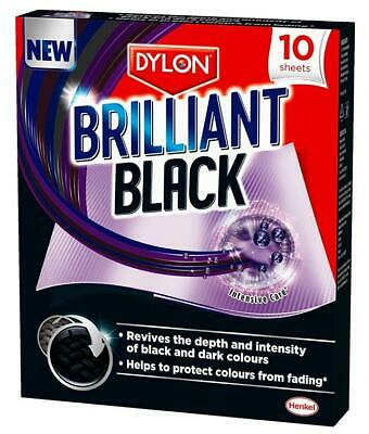 DYLON Brilliant Black- Revive Faded Blacks & Protect From Fading