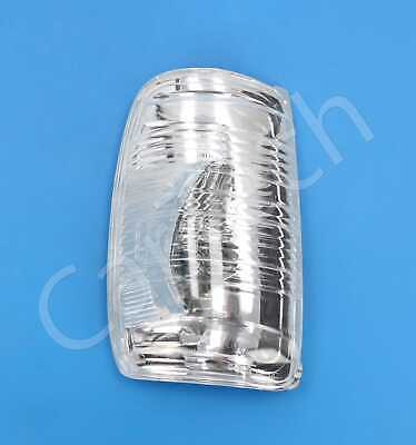 Door Wing Mirror Indicator Lens Clear Left Passenger Side For Ford Transit Mk8