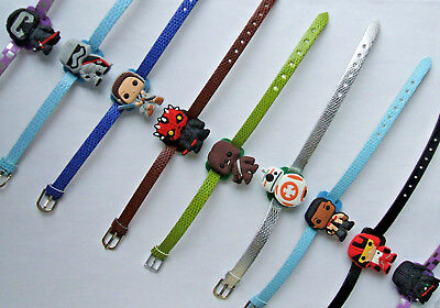 SHOE CHARM BRACELETS (H2) - inspired by CUTE CARTOON CHARACTERS
