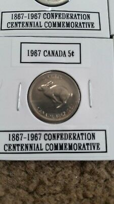 1967 5C Canada 5 Cents