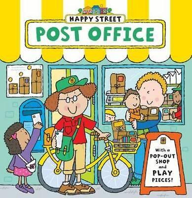 NEW Happy Street Post Office By Simon Abbott Board Book Free Shipping