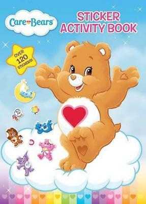 NEW Care Bears Sticker Activity Book Paperback Free Shipping