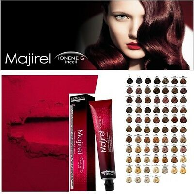 Loreal Professional Majirel Majirouge French Brown Permanent Hair Color - 50 ML