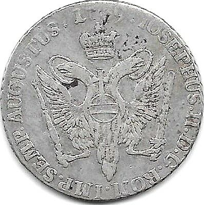 1789 Germany States  - Hamburg/courant 16 Schilling Coin