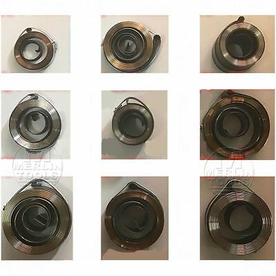 Wound Spring Thickness 0.65 to 1.6mm OD 38-80mm For Milling Machine Bench Drill