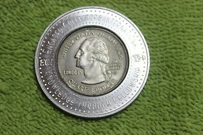 1999P-Encased Quarter-God Bless America-And All That Live Therein