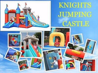 Knights Jumping Castle 9021 (SYDNEY METRO PICK UP AVAILABLE)