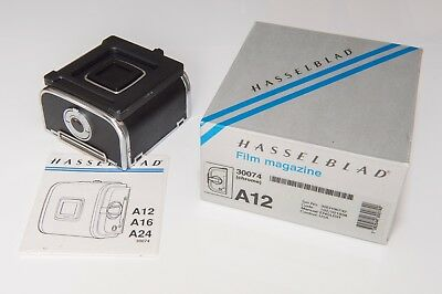 Hasselblad A12 Film Back 30074 Magazine Holder 120 A 12 6x6