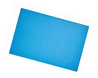 "Dahle 10693 Vantage Self-Healing Cutting Mat,  24"" x 36"",  Blue, 5 layer PVC Con"