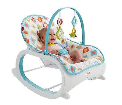Infant Toddler Rocker Bouncer Seat Baby Chair Sleeper Swing Toy Removable Bar