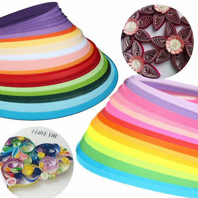160 Strips 22 Colors Mixed Paper Quilling Total DIY Origami Papercraft 3mm*390mm