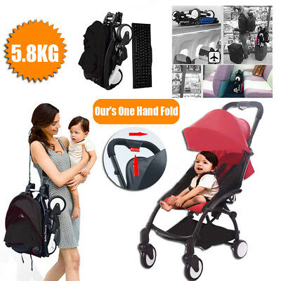Foldable Portable Baby Stroller Compact Lightweight Jogger Pram Carry-on Travel