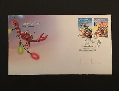 Christmas Island - Christmas 2008 Australia Stamps First Day Cover FDC