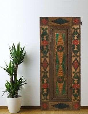 Vintage Cabinet Door Carved,Solid Wood Antique Panel Architectural (50'')