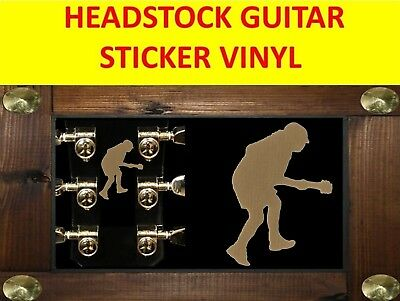 Angus Young Ac/dc Sticker Guitar Gold Visit Our Store With Many More Models