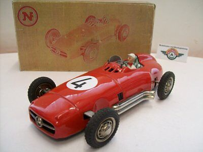 """JNF """"Record"""", Mercedes Monoposto #4 (W196) 1955, Red, (Made in Western Germany)"""