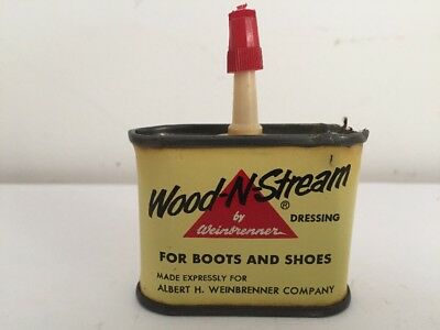 Wood-N-Stream Boot And Shoe Dressing 1 oz. Can