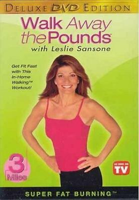 Leslie Sansone Walk Away The Pounds 3 Mile Dvd New Walking At Home Exercise