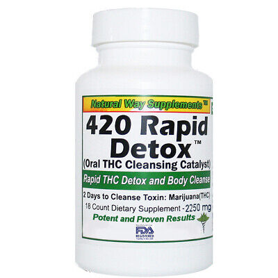 THC  Detox - 420 Rapid Detox - Supports Removal THC Toxins in 2 Days (48 Hours)