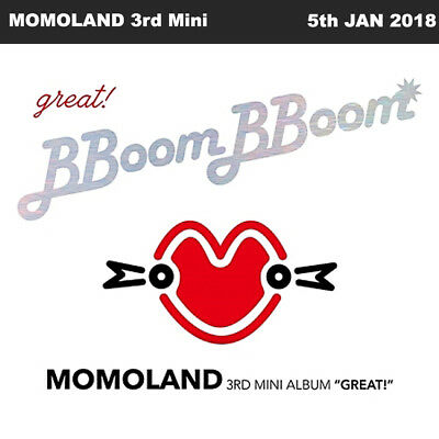 MOMOLAND GREAT! 3rd Mini Album CD+80p Booklet+2 Photocards+Folded Poster KPOP