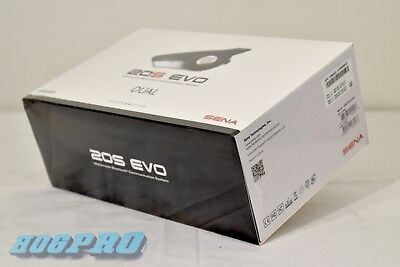 SENA 20S Evo Bluetooth Communication Headset 20S-EVO-01D Dual Pack