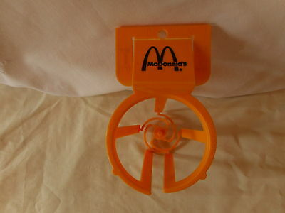 Vintage Whirley McDonald's Plastic Car Window Mug Cup Holder