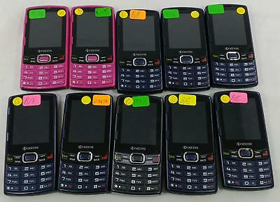 Lot of 10 Kyocera Verve S3150 Sprint QWERTY keyboard Cellphone BULK 249