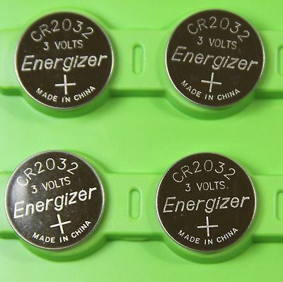 Lot of 4 PC ENERGIZER CR2032 WATCH BATTERIES 3V LITHIUM CR 2032 DL2032 BR2032