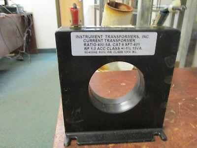 Instrument Transformer Current Transformer 6SFT-401 Ratio 400:5A 600V 50-400Hz