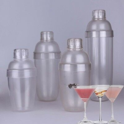 Chic Cocktail Shaker Pratical Clear Drink Shaker Environmental Bartender Equips