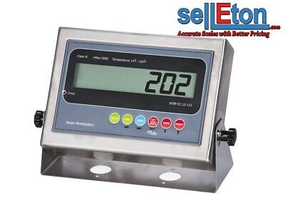 PS-IN202 SS-C LCD Indicator with 2 Rs-232 ports /Floor or Truck scale base