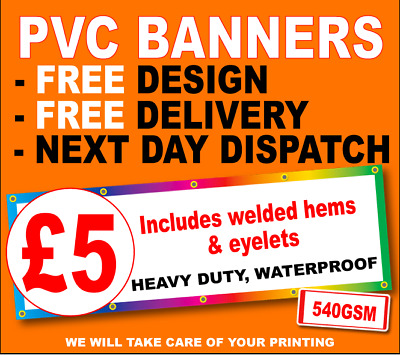 PVC Banners Printing Outdoor Heavy Duty Vinyl Banner Advertising Sign 540gsm PVC