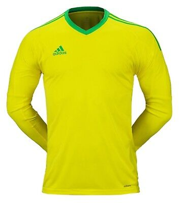 f6d7b0516 Adidas Men REVIGO 17 Goalkeeper Shirts Soccer Yellow GK Football Jersey  AZ5396