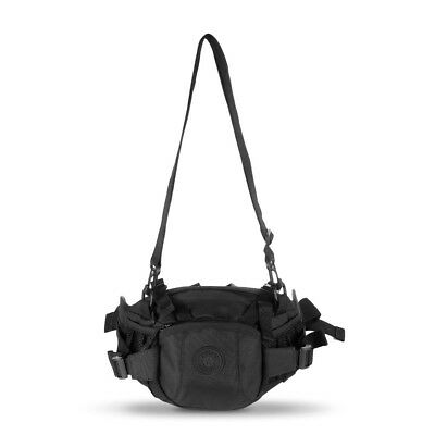 Tanluhu 372 Outdoor Tactical Waist Pack Bag with Water Bottle Pocket Holder