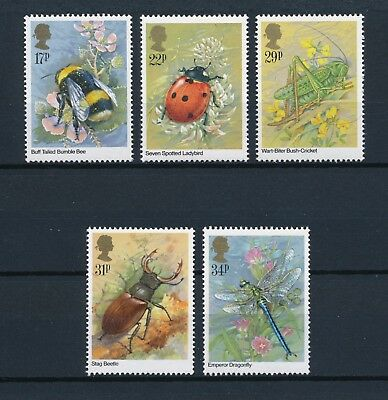 Great Britain 1098-02 MNH, Insects, 1985